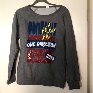 Sweaters - One Direction - Where We Are 2014 Tour Sweatshirt